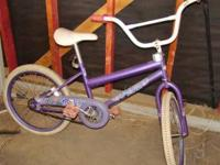 This girls bicycle needs some tlc and someone to ride