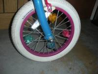 I am selling this girls pink bike it is for a smaller