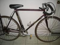 Nice looking, lightweight and ready to ride GITANE and