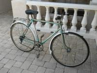 Gitane vintage 1970 find on ebay restored $1200.00.This