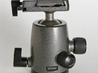This is a used Gitzo G1378M Ball Head. It shows minor