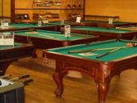 NEW AND USED SLATE POOL TABLES  FREE DELIVERY WITHIN 75