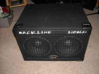 GALLIEN-KRUEGER 2X10 BASS SPEAKER CABINET.VERY GOOD