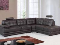 Product description: The Graceful Sofa in Black Bonded