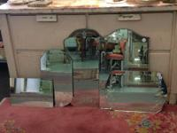 Glam Etched Round Mirror Reduced Reduced from $160 to