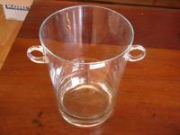 Big 'Toscany' Hand Blown Glass. Champagne Bucket - $50