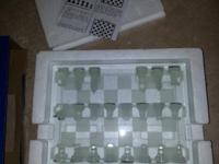 Glass Chest Set $10 I am clearing out my entire estate