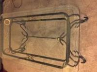 Glass coffee table for sale $60 obo Contact  if
