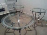 I am trying to get rid of this set of three round glass