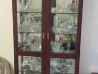 Great condition. 2 doors, 6 shelves, from century