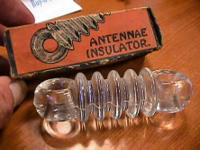 Glass insulator   Get there 1st and check it out for