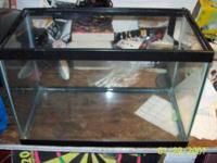 i have 2 glass tanks 1 was used for fish and the other
