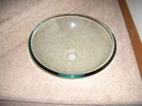 Glass Vessel Sink purchased from Lowes last year for