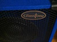 GLASSTONE 2 X 10 BASS CABINET IN EXCELLENT CONDITION.