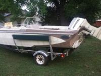 Solid boat needs a good clean up. NO MOTOR NO TRAILER