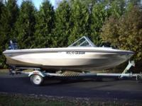 Glastron Boat & Mercury OB Motor with Trailer: $8,800