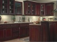 Glazed Cherry Kitchen Cabinets - $1895 NEW! With-