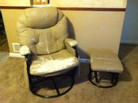 Chair is still in good condition.  My kids pick at the