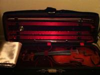 This violin is in excellent condition. It is a full