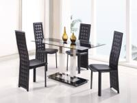 Global Furniture 2108DT Dining Table The Dining Table