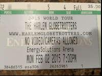 Harlem Globetrotter tickets for sale! Monday night,