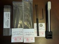 Match grade threaded KKM accuracy conversion barrel for