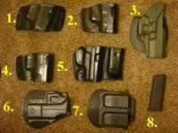 I have quite a few holsters and a mag that I want to