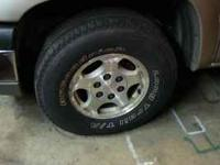 These wheels and tires are off my Chev Silverado.