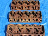 GM 6.2 Liter V-8 Diesel Engine Cylinder Heads: