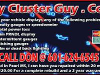 GM INSTRUMENT CLUSTER REPAIR BY QUALIFIED ELECTRONICS