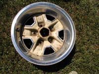 Two GM 14x7 Olds wheels for a Buick, Chevrolet,