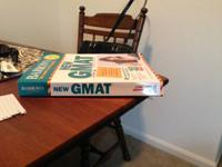 Barron's GMAT test prep with CD-ROM 17th edition.