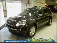 Words from the net a real Gmc Acadia ownerFor the