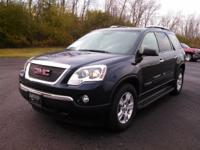 This is a very clean 2007 GMC Acadia. Third row seating