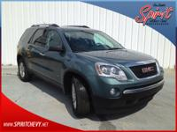 Preferred Package, Acadia SLE, 4D Sport Utility, 3.6L