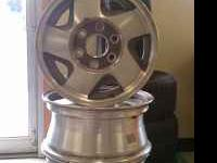 Full set of OEM 6 lug 16X7 GMC/Chevrolet wheels $125