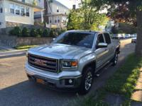 2014 GMC Sierra SLT Z71 4X4 off road package silver