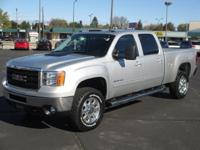Low mileage 2011 GMC Sierra 3500HD SLT 4x4 with the 6.6