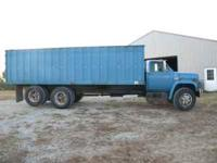 For Sale: 1979 GMC grain truck: good tires, 22' steel
