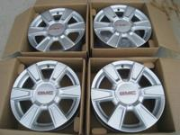 "17"" gmc manufacturing facility rims in perfect"