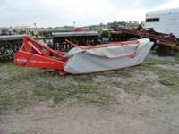 This mower is consigned for auction at J Beaty Farm
