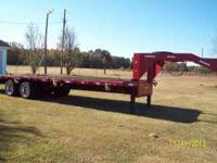 this is a great trailer for hauling equipment this
