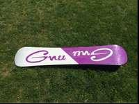I have one GNU snowboard for sale that includes