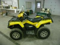 Stock # 5167 2009 Can Am Outlander 800R XT 4x4 Up for