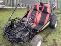 150cc Carbide Go-Cart, the Ultimate Ride, 2-Seater with