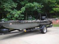 I am selling a fully loaded Go-Devil duck hunting rig.