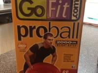 DVD & Pump Included! LIKE NEW Stability round just used