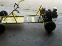 Clean go kart ready to run briggs 5hp motor please call