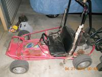 For sale, Go Kart 6.5 HP -- $375. Has new 6.5 HP motor.