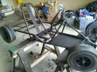 i got an old go kart frame that is set up to have a
